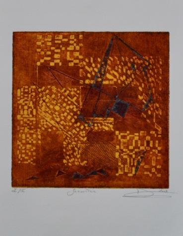 2008 _ Géométrie - 32X25 2 plaques